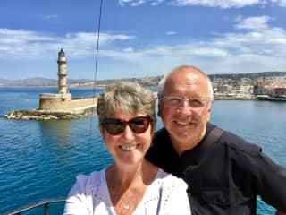 Our April 2019 visit to lovely Chania, Crete