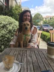 Me with Jack - 3 month sit Menlo Park