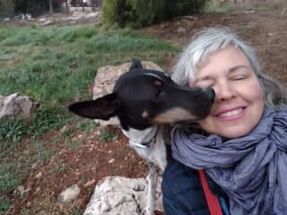 Kisses from Ace in Jerusalem