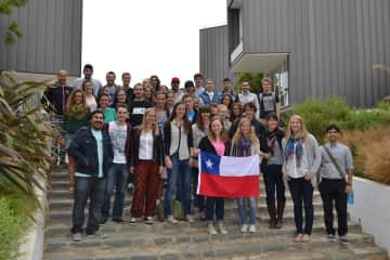 Studying abroad! Chile!