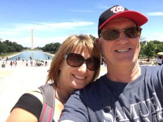 Eleanor and Mark - love travelling!