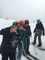Skiing on Mt Buller