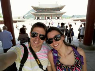 Pame and Ignacio traveling the world most amazing places!