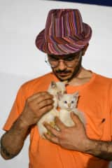 with little kittens tomy and willy in Andalucia