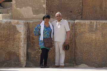 Ray and Phyllis in Cairo