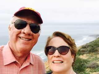 Sam and Valerie on west coast.