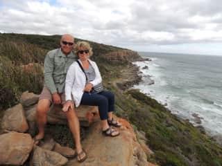 Rhonda and Tom in Western Australia 11/2017