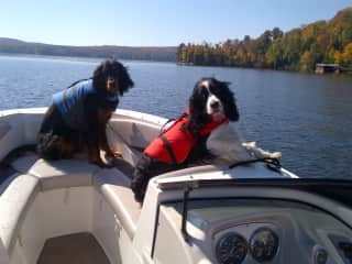 Boating with boys