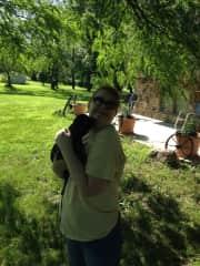 Me & baby pug