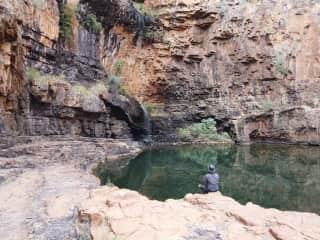 Deep in Katherine Gorge, Australia