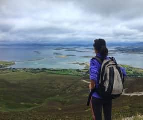 Hiking Croagh Patrick in Ireland