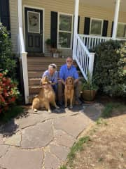 Nellie and Bodie in Townville, SC