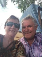 Barbara and Peter Wuksta