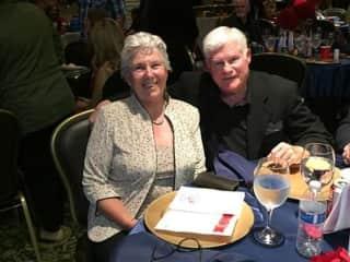 Bob and Mary-Marine Corps reunion