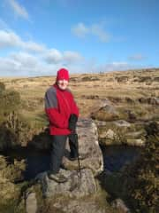 Great walking on the second dry day on Dartmoor February 2020