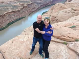 Dave and Sue in Moan UT