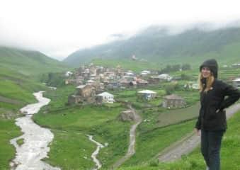 Ushgulli, Republic of Georgia Caucasus. Highest European Settlement