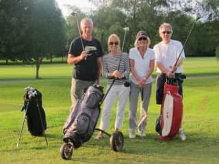 Golfing Buddies, Wales