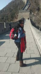 My most recent adventure. . .wall of china for my 50th