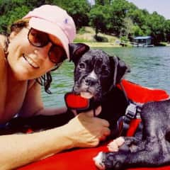 Puppy Trouper at Grand Lake.