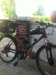 This was my transportation for 2 yrs :)