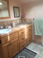 Sitter's bathroom