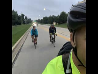 We love to bike as a family!