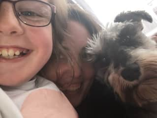 Me, my niece and Wilson