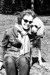 Mary with Sieva in Victoria, BC