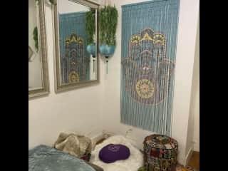 Here is a meditation corner