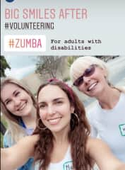 Volunteering with these beauties!