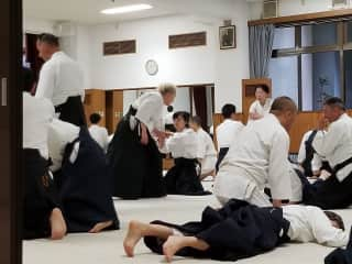 Practicing Aikido in Japan - May 2019