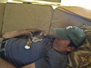 Cat nap!!