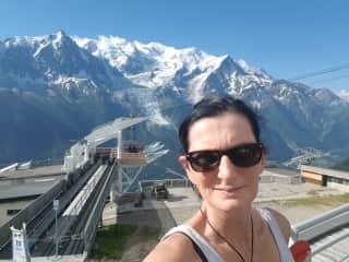 Mont Blanc last year