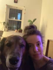 First TrustedHousesitters experience - me and Hank in NY!