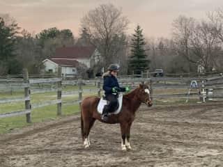 Another horseback riding photo