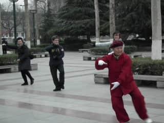 Taiji in Xi'an, China