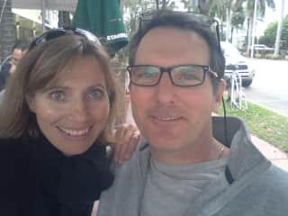 Chris and Gordana