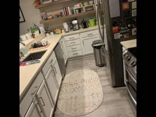 Open concept Kitchen (dishwasher/double oven/microwave/espresso machine/toaster)