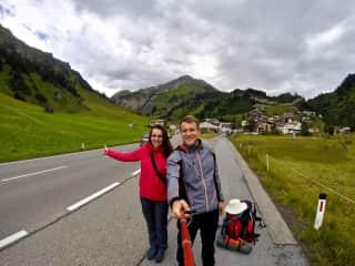 Hitchhiking in Austria
