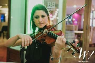 Me playing violin