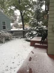 Doug in the snow