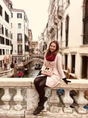 I loooove traveling! Venice, 2019.