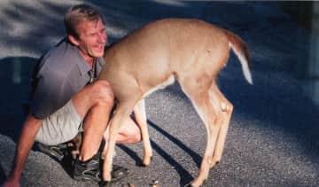Al being a deer whisperer