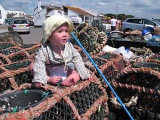 Olive at Cromer - Crab Pots