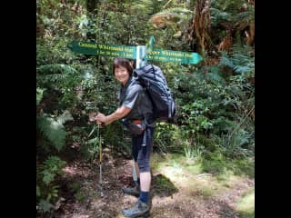 I belong to our local tramping group and we have heaps of fun.  Great keeping fit.
