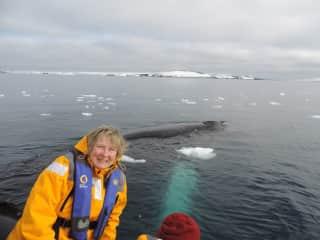 Jan on recent trip to Antarctica