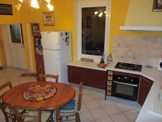 Our kitchen and dining area