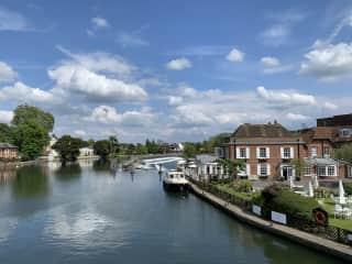 Walking the length of River Thames when in England