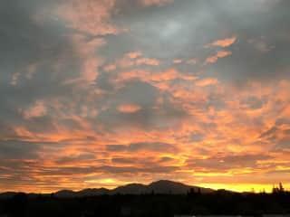 Mt. Diablo Sunrise - Walnut Creek